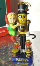 MR PEANUT Nutcracker Ornament Tis The Season To Be Nutty Planters Enesco '96 MIB