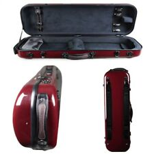 Tonareli Violin Oblong Fiberglass Case VNFO1018 RED GRAPHITE SPECIAL EDITION