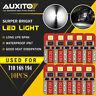 10X AUXITO 6000K White 168 T10 194 LED License Plate Trunk Dome Map Light Bulb E