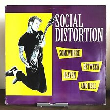 Somewhere Between Heaven & Hell Social Distortion 1992 Vinyl Records 1st Press