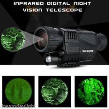 5X40 Infrared Dark Night Vision IR Monocular Telescope Digital Camera Hunting