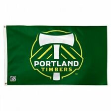 PORTLAND TIMBERS FLAG 3'X5' MLS BANNER: FAST FREE SHIPPING