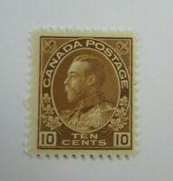 1925 Canada  SC #118  KING GORGE V  MH F+