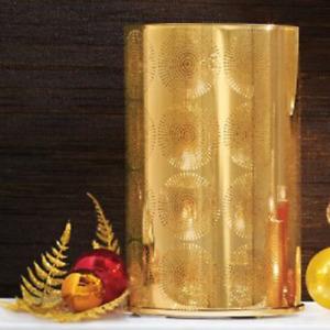 New Partylite Jonathan Adler Santorini Gold Hurricane Candleholder P91662