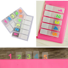 100 Sheets Marker Index Tabs Flags Sticky Note Sticky Office School Supplies ^