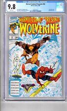 Marvel Comics Presents #50 9.8 CGC W/P 'WOLVERINE..! Special Anniversary Issue!