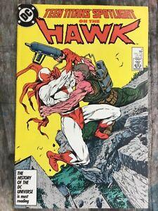 DC Comics Teen Titans Spotlight on the Hawk #8 March 1987