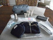 BRITISH AIRWAYS BA First Class Amenity Kit Washbag Trousse Neceser Kulturbeutel