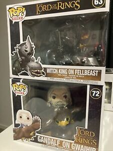 Funko Pop! Rides, Lord Of The Rings, Gandalf  And Witch King