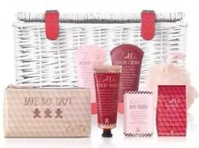 Zoella Sumptuous Wicker Basket Pamper Hamper Gift Set Hungry Hands Bake My Day