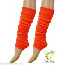 Kids Girls Plain Leg Warmer Girls School Dance Wear Lurex Legwarmer tutu Fancy