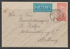 Denmark 1936. Domestic air mail cover.