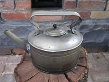Antique Metal Kettle Decor Piece - Unusual Early 20th Century - Leaks