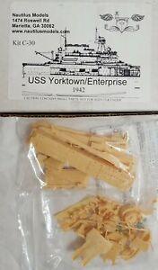 NAUTILUS MODELS USS YORKTOWN / ENTERPRISE 1942 CONVER for TRUMPETER 1/350 HORNET