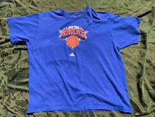 New York Knicks Vintage T-shirt Size 2Xl Blue Nba Basketball 90s Usa
