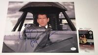 PIERCE BROSNAN Signed JAMES BOND Golden Eye 11x14 Photo Autograph JSA COA