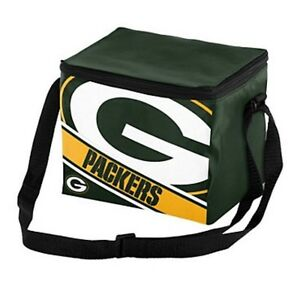 NFL Green Bay Packers Insulated Lunch Bag Cooler (6 Pack)