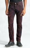 True Religion $349 Men's Rocco Relaxed Skinny Super T Jeans - MJ60NTY8
