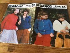 Patons, Husky, 8 Classic Family  Designs. 501