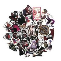 52x Tokyo Ghoul Sticker Anime Stickers for Laptop Suitcas Skateboard Bicycle New
