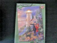 PUZZLE, HECETA HEAD LIGHTHOUSE, 1000 PIECES,MASTER PIECES, USA, UNOPENED.