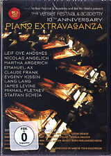 DVD Piano Extravaganza ARGERICH KISSIN LANG LANG LEVINE ANDSNES KISSIN PLETNEV