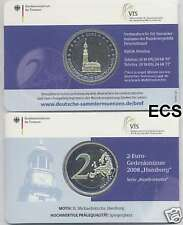 Deutschland 2 € Euro GM 2008 J Michel PP offiz. Coincard