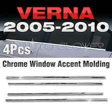 Chrome Window Under Accent Garnish Molding For HYUNDAI 2005-2010 Accent(Verna)