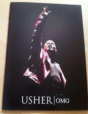 USHER 'OMG' CONCERT BOOK, brand new