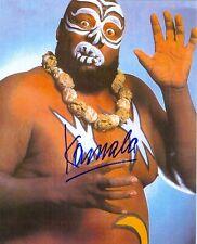 KAMALA WWE WWF SIGNED AUTOGRAPH 8X10 PHOTO  W/ PROOF