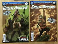 Green Arrow #32 Cover A & B 2nd Full Appearance Of The Batman Who Laughs Metal