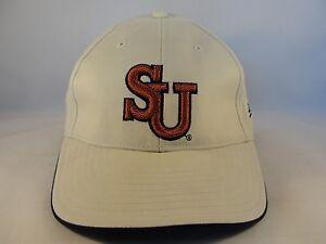 Syracuse Orangemen NCAA New Era Vintage Strapback Hat Cap Khaki