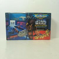 Galoob Micro Machines Star Wars C-3PO / CANTINA Playset MIB, 1994