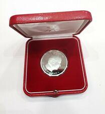 Médaille Mariage En Argent Albert II MONACO 2005.AD2529