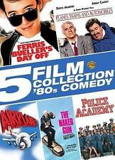 5 Film on 5 DVD * Ferris Bueller * Planes Trains * Airplane * Naked Gun * Police