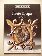 Étude Tajan, Haute époque. Catalogue de vente aux enchères (14/02/2001)