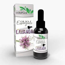 Olio Essenziale alla Lavanda Aromaterapia Rilassante Relax  ML 100 Made in Italy
