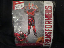 TRANSFORMERS - STINGER Costume / Dress Up SIZE LARGE 6-8 Years BRAND NEW