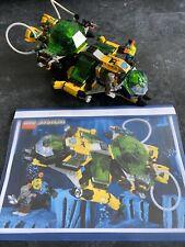 LEGO 6180 HYDRO SEARCH SUB AQUAZONE SYSTEM SET 100% COMPLETE C7 REPRINTED MANUAL