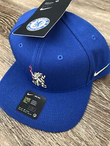 Nike Chelsea Official Team Blue Snapback Adjustable Hat CQ9973-495 $32