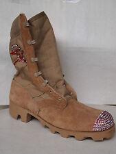 BAD GIRL desert Boots / Wüsten Stiefel+ Swarovski Steinchen +Totenkopf EU 37/38