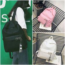Fashion Women Travel Canvas Backpack Girls Boys School Bag Student Rucksack New