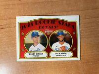 2021 Topps Heritage - Brady Singer / Nick Heath - #129 Chrome Parallel #'d /999