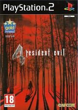 Resident Evil 4 For PAL PS2 (New & Sealed)