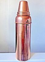Traditional Pure Copper Water Bottle Leak Proof Yoga Health Benefits FREE SHIP