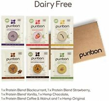 Purition Dairy-Free Vegan Trial Box | High Protein Meal Replacement Shake or |