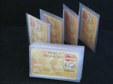 NEW WALLET INSERTS SET OF 2 ACCORDIAN STYLE CARD PICTURE HOLDER