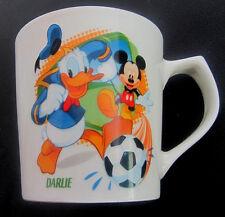Darlie Toothpaste Disney Donald Duck Mickey Mouse Coffee Mug