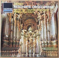 Nice J.S. Bach Beruhmte Orgelwerke - Karl Richter - Telefunken