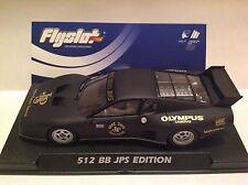 FLYSLOT FERRRARI 512 BB JPS EDITION - SCALEXTRIC-NEW!